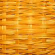 Stock Photo: Weaving of branches of bush
