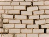 Zeď při kterým ničení — Stock fotografie