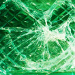 Stock Photo: Cracks in glass
