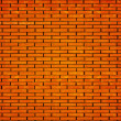 Brick in laying of wall of house — Stock Photo #1326372