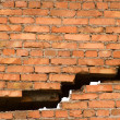 Stock Photo: Crack in wall