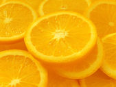 Oranges segments — Stock Photo