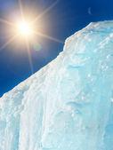 Iceberg mountain ice — Stock Photo
