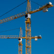 Cranes building two — Stock Photo #2337778