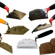 Tools  building  shovel - Stock Photo