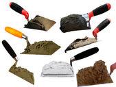 Tools building shovel — Stock Photo