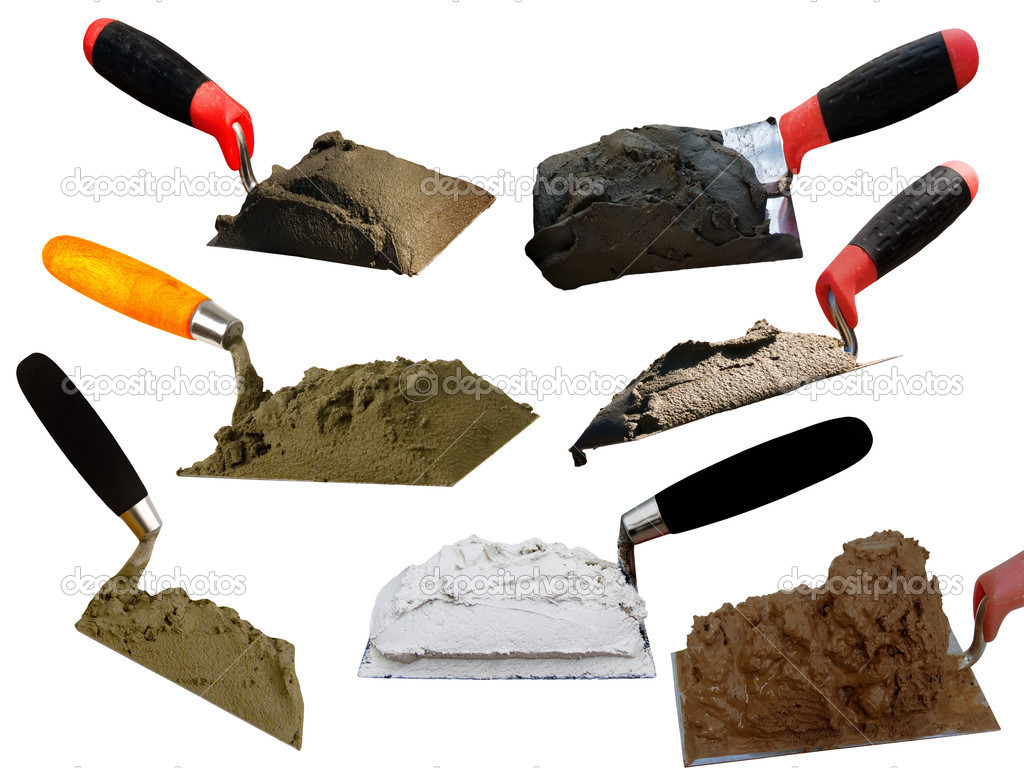 Tools building shovel stock photo olegusk 2535162 for Tools to build a house