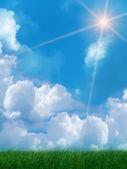 Sun sky clouds — Stock Photo