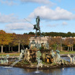 Peterhof, Fountain  Neptune - Stock Photo