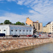 Embankment in Helsinki — Stockfoto