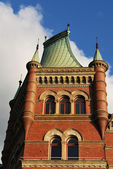 The architecture in Stockholm — Stock Photo