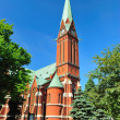 Kotka Cathedral. - Stock Photo