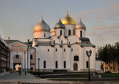 Veliky Novgorod, St. Sophia Cathedral — Stock Photo