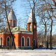 Orthodox Church. St. Petrsburg — Stock Photo