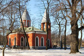 Orthodox Church. St. Petrsburg — Stock Photo