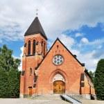 A church in Sandsborg, Sweden — Stock Photo