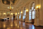 Gatchina Palace, White Hall — Stock Photo
