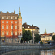 Stockholm in the evening — Stock fotografie