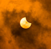 Solar eclipse — Stock Photo