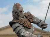 Warrior Armour, Verona, Italy, 2004 — Stock Photo