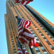wolkenkratzer in new york city — Stockfoto #1248844