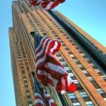 new york City gökdelen — Stok fotoğraf