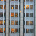 Manhattan Street View, 2003 — Stock Photo