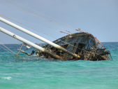 Famous Wrecked Ship, Capo Verde, May 200 — Stock Photo