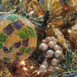 Stock Photo: Chistmas Balls, Miami, Florida, January