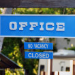 Stock Photo: No Vacancy, Islamorada, Florda, January