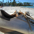 Royalty-Free Stock Photo: Shoes on Bahia Honda State Park, Florida
