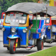 Royalty-Free Stock Photo: Tuc-Tuc in Bangkok, Thailand, August 200