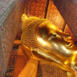 Buddha Statue in a Bangkok Temple, Thail — Stock Photo #1254226