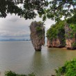 James Bond Island, Thailand, August 2007 - Foto de Stock  