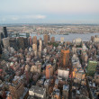 skyline van de stad van New york, u.s.a., 2007 — Stockfoto