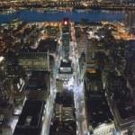 New york şehir silüeti, Amerika Devletleri., 2007 — Stok fotoğraf