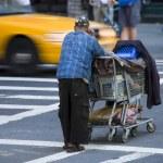 Homeless in New York City, 2008 — Stock Photo #1255620