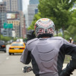 Street Rider in New York City — Stock Photo