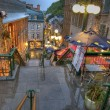 Street of Quebec - Stock Photo