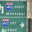 Foto Stock: Quebec Signs, 2008