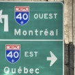 Quebec Signs, 2008 — Stock Photo #1255811