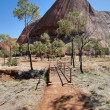 Uluru, Ayers Rock, Northern Territory, A — Stock Photo #1257296