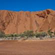 Uluru, le rocher d'ayers, territoire du Nord, un — Photo