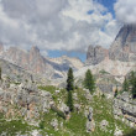 Dolomites Mountains, Italy, Summer 2009 — Stock Photo