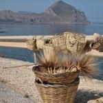 Sea of Sicily, Taormina, Italy — Stock Photo #1258241