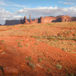 Royalty-Free Stock Photo: Monument Valley, U.S.A., August 2004