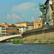 Stock Photo: Pisa, Lungarni