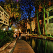 San Antonio by Night, Texas, U.S.A. - Stock Photo