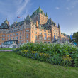 Hotel de Frontenac, Quebec, Canada - Stock Photo