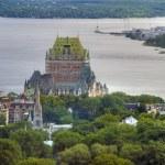 Hotel de Frontenac, Quebec, Canada — Stock Photo #1259863